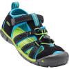 Keen Kids' Seacamp II CNX Sandal - 8 - Black / Blue Danube
