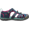 Keen Kids' Seacamp II CNX Sandal - 10 - Poseidon / Very Berry