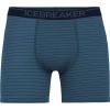 Icebreaker Men's Anatomica Boxers - XXL - Thunder Stripe