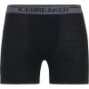 Icebreaker Men's Anatomica Boxers with Fly - XXL - Black