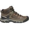 Keen Men's Targhee III Mid Waterproof Boot - 14 - Canteen / Mulch