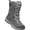 Keen Women's Terradora Lace WP Boot - 5.5 - Steel Grey / Forget Me Not