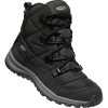 Keen Women's Terradora Waterproof Boot - 5 - Black / Steel Grey