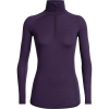 Icebreaker Women's 150 Zone LS Half Zip Top - Small - Lotus