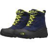 The North Face Youth Chilkat Lace II Boot - 3 - Cosmic Blue / Lime Green