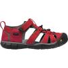 Keen Kids' Seacamp II CNX Sandal - 10 - Racing Red / Gargoyle