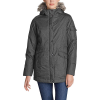 Eddie Bauer Women's Superior III Down Parka - Large - Dark Charcoal Heather