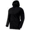 Mammut Men's Zinal Hardshell Hooded Jacket - Medium - Black
