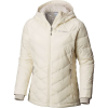 Columbia Women's Heavenly Hooded Jacket - Large - Light Bisque