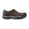 Keen Men's Brixen Low Waterproof Shoe - 7.5 - Slate Black / Madder Brown