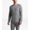 The North Face Men's Warm Wool Blend Crew - Small - TNF Medium Grey Heather