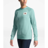 The North Face Women's Heritage Crew - Medium - Windmill Blue Heather