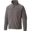 Columbia Men's Collegiate Flanker II Full Zip Fleece Jacket - Large - Uw - Charcoal Heather