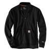 Carhartt Men's Force Extremes Mock Neck Half-Zip Sweatshirt - XXL - Black