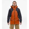 The North Face Men's Purist FUTURELIGHT Jacket - Medium - Papaya Orange / Weathered Black