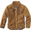 Carhartt Men's Flame Resistant Full Swing Quick Duck Coat - Large Tall - Carhartt Brown