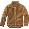 Carhartt Men's Flame Resistant Full Swing Quick Duck Coat - XL Tall - Carhartt Brown