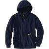 Carhartt Men's Flame Resistant Heavyweight Zip Front Sweatshirt - Large Tall - Dark Navy
