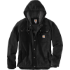 Carhartt Men's Washed Duck Bartlett Jacket - Large Tall - Black BLK