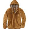 Carhartt Men's Washed Duck Bartlett Jacket - Medium Tall - Carhartt Brown