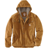 Carhartt Men's Washed Duck Bartlett Jacket - Large Tall - Carhartt Brown