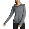 Eddie Bauer Motion Women's Resolution 360 Full Zip Hoodie - Large - Heather Gray