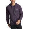 Eddie Bauer Motion Men's Resolution Tech Sweat Full Zip - XL - Purple Heather