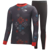 Helly Hansen Junior Active Set - 10 - Ebony / Snowcrystal