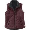 Carhartt Women's Utility Sherpa Lined Vest - XS - Deep Wine