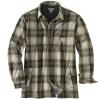 Carhartt Men's Hubbard Sherpa-Lined Shirt Jac - Medium Regular - Military Olive