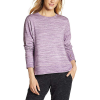 Eddie Bauer Motion Enliven LS Step Hem Sweatshirt - XL - Dark Plum