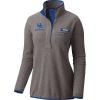 Columbia Women's Collegiate Harborside Fleece Pullover - Large - Uk - Charcoal Heather / Azul