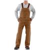 Carhartt Men's Sandstone Bib Overall - 46x30 - Carhartt Brown
