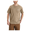 Carhartt Men's Flame Resistant Force SS T-Shirt - Large Tall - Khaki