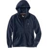 Carhartt Men's Force Delmont Graphic Full Zip Hooded Sweatshirt - 3XL Tall - Navy Heather