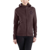 Carhartt Women's Force Delmont Graphic Zip-Front Hooded Sweatshirt - XS - Fudge Heather