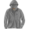 Carhartt Men's Force Delmont Graphic Full Zip Hooded Sweatshirt - Medium Regular - Asphalt Heather