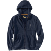 Carhartt Men's Force Delmont Graphic Full Zip Hooded Sweatshirt - Large Regular - Navy Heather