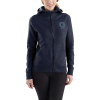 Carhartt Women's Force Delmont Graphic Zip-Front Hooded Sweatshirt - XL - Navy Heather