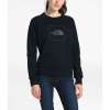 The North Face Women's Holiday French Terry Crew - XL - TNF Black / TNF Black