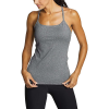 Eddie Bauer Motion Women's Resolution 360 Y Back Tank - Small - Heather Gray