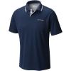 Columbia Men's Utilizer Polo Shirt - Small - Collegiate Navy / Columbia Grey