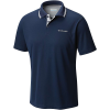 Columbia Men's Utilizer Polo Shirt - Large - Collegiate Navy / Columbia Grey