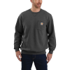 Carhartt Men's Crewneck Pocket Sweatshirt - Large Regular - Carbon Heather