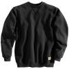 Carhartt Men's Midweight Crewneck Sweatshirt - Large Tall - Black