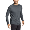 Eddie Bauer Motion Men's Resolution LS Tee - Large - Charcoal Heather