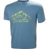 Helly Hansen Men's Skog Graphic T-Shirt - Medium - Blue Fog