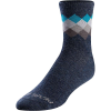 Pearl Izumi Men's Merino Wool Sock - Large - Navy/Teal Solitaire