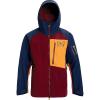 Burton Men's [ak] GTX Cyclic Jacket - Small - Port Royal / Dress Blue / Russet Orange