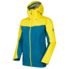 Mammut Men's Crater HS Hooded Jacket - Medium - Sapphire / Blazing